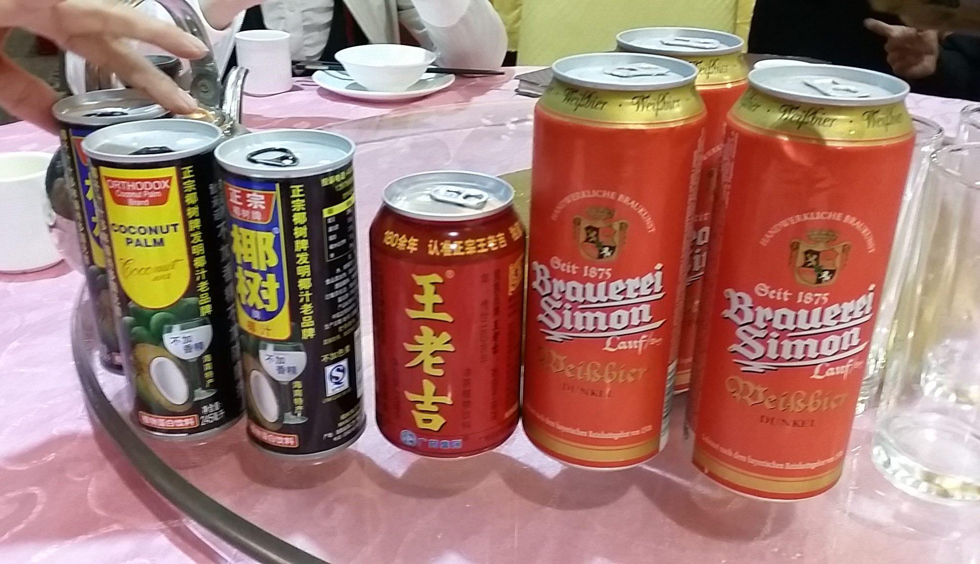 注文した飲物は全て生温かい状態で提供されます。